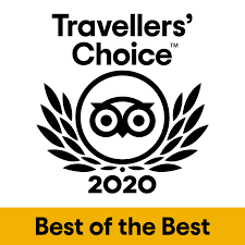 Tripadvisor Travellers Choice Award 2020